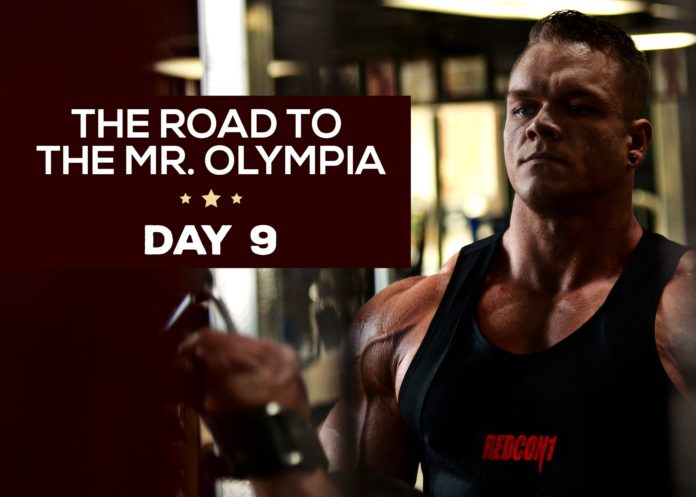 Dallas Journey to the Olympia - Day 9
