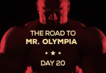 Road to mr olympia day20