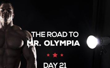 Road to mr olympia day21