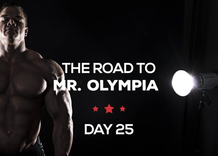 Road to mr olympia day25