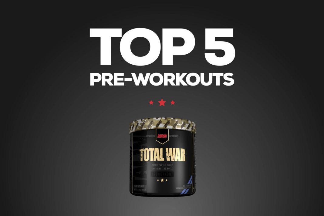 Top 5 Best Preworkouts