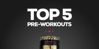 Top 5 Best Preworkouts