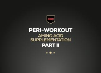Peri-Workout Amino Acid Supplementation Part II