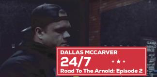 Dallas McCarver- Road to Arnold
