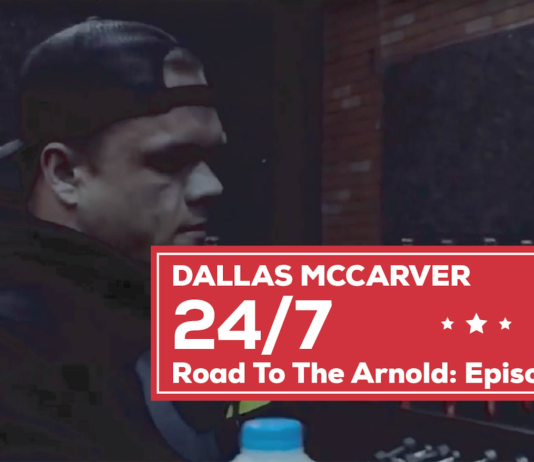 Dallas McCarver- Road to Arnold