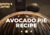 avocado pie recipe